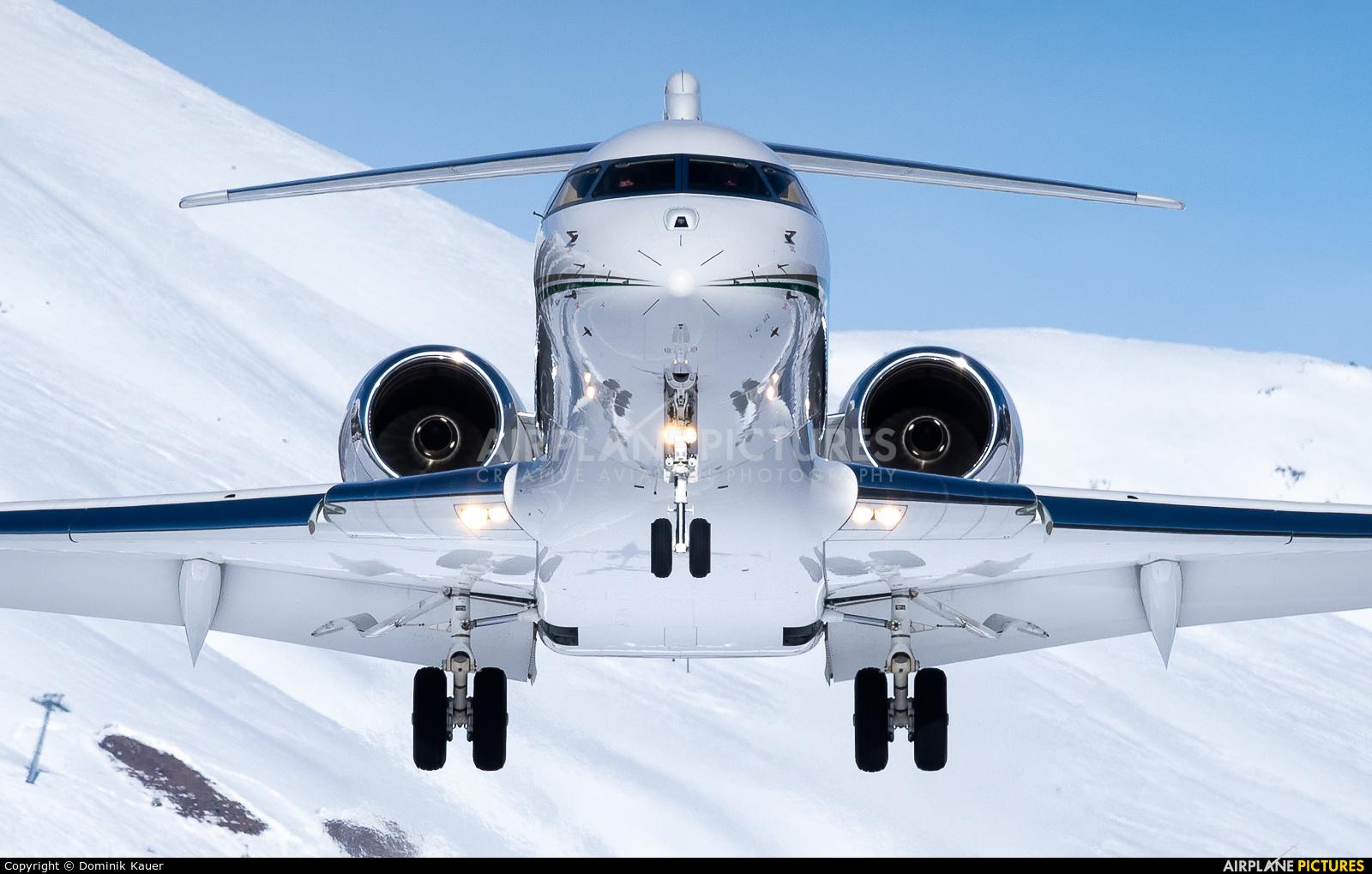 Private M-AGMA aircraft at Samedan - Engadin