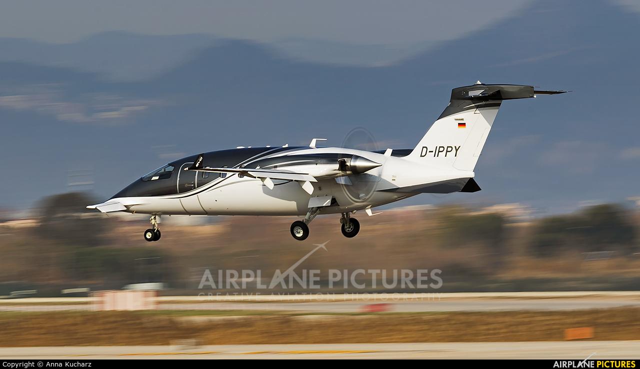 Private D-IPPY aircraft at Barcelona - El Prat