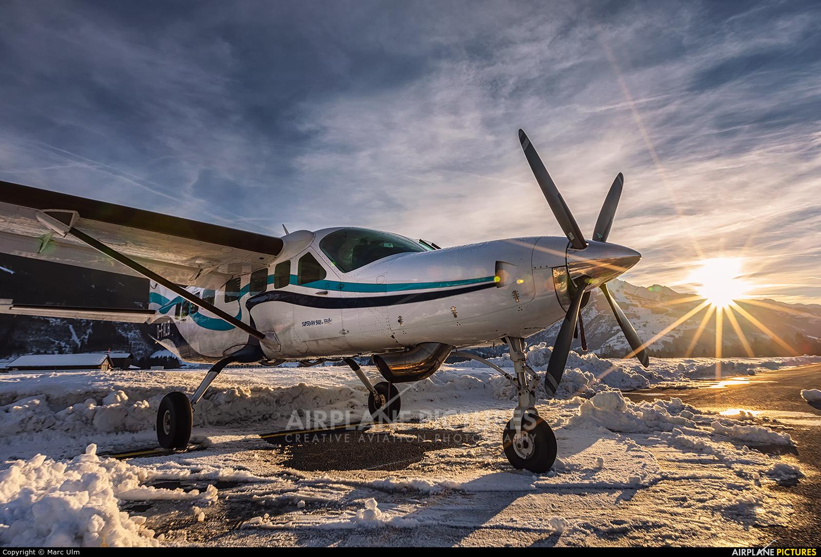 Private D-FALB aircraft at Zell am See