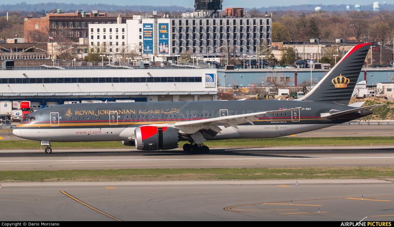Royal Jordanian JY-BAC aircraft at New York - John F. Kennedy Intl