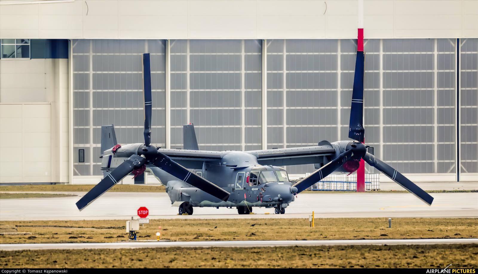USA - Air Force 10-0050 aircraft at Kraków - John Paul II Intl