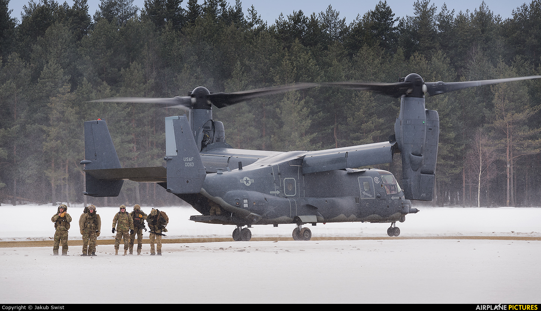 USA - Air Force 0063 aircraft at Nowy Targ