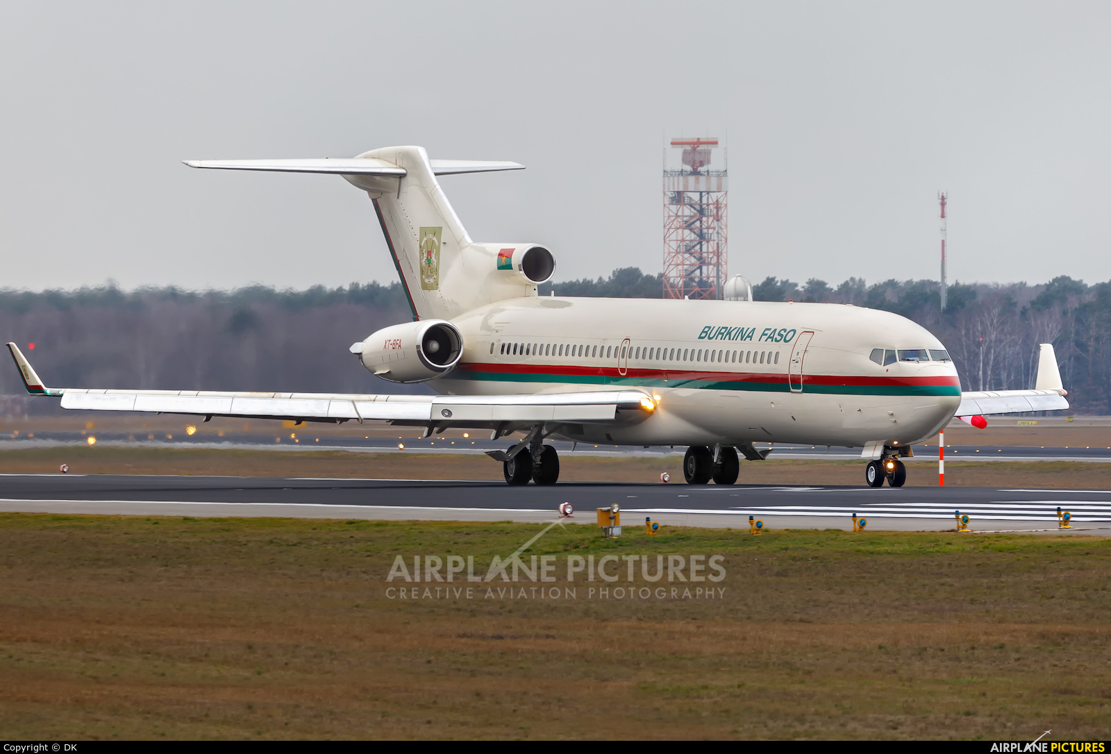 Burkina Faso - Government XT-BFA aircraft at Berlin - Tegel