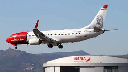 EI-FHY - Norwegian Air International Boeing 737-800