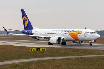 EI-MNG - Mongolian Airlines Boeing 737-8 MAX