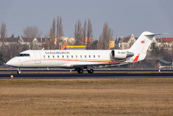 4L-GAA - Georgia - Government Canadair CL-600 CRJ-850