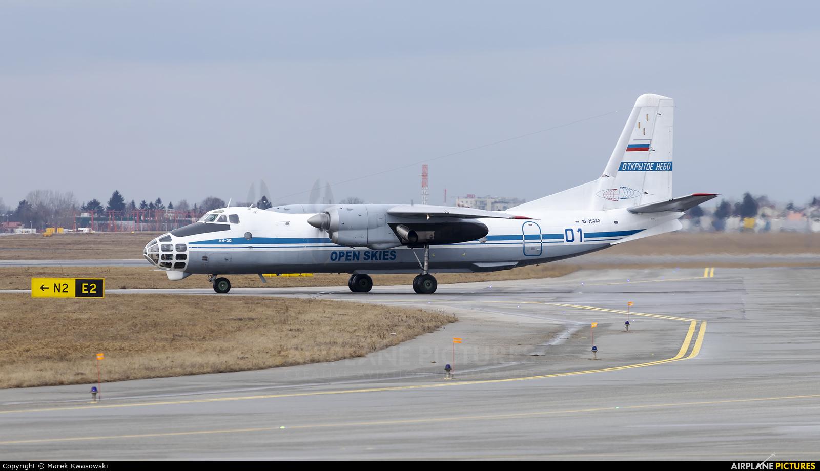 Russia - Air Force 01 aircraft at Warsaw - Frederic Chopin