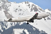Rare visit of Sundair Airbus A320 to Innsbruck title=