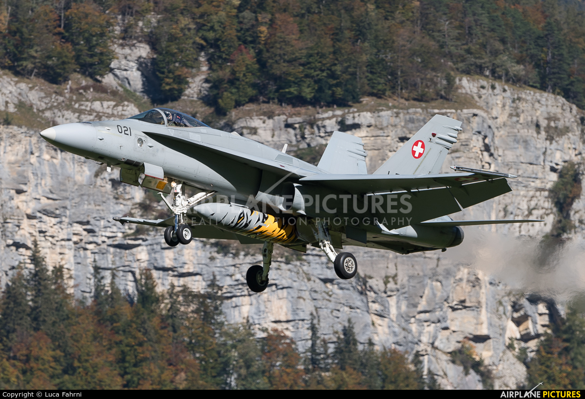 Switzerland - Air Force J-5021 aircraft at Meiringen