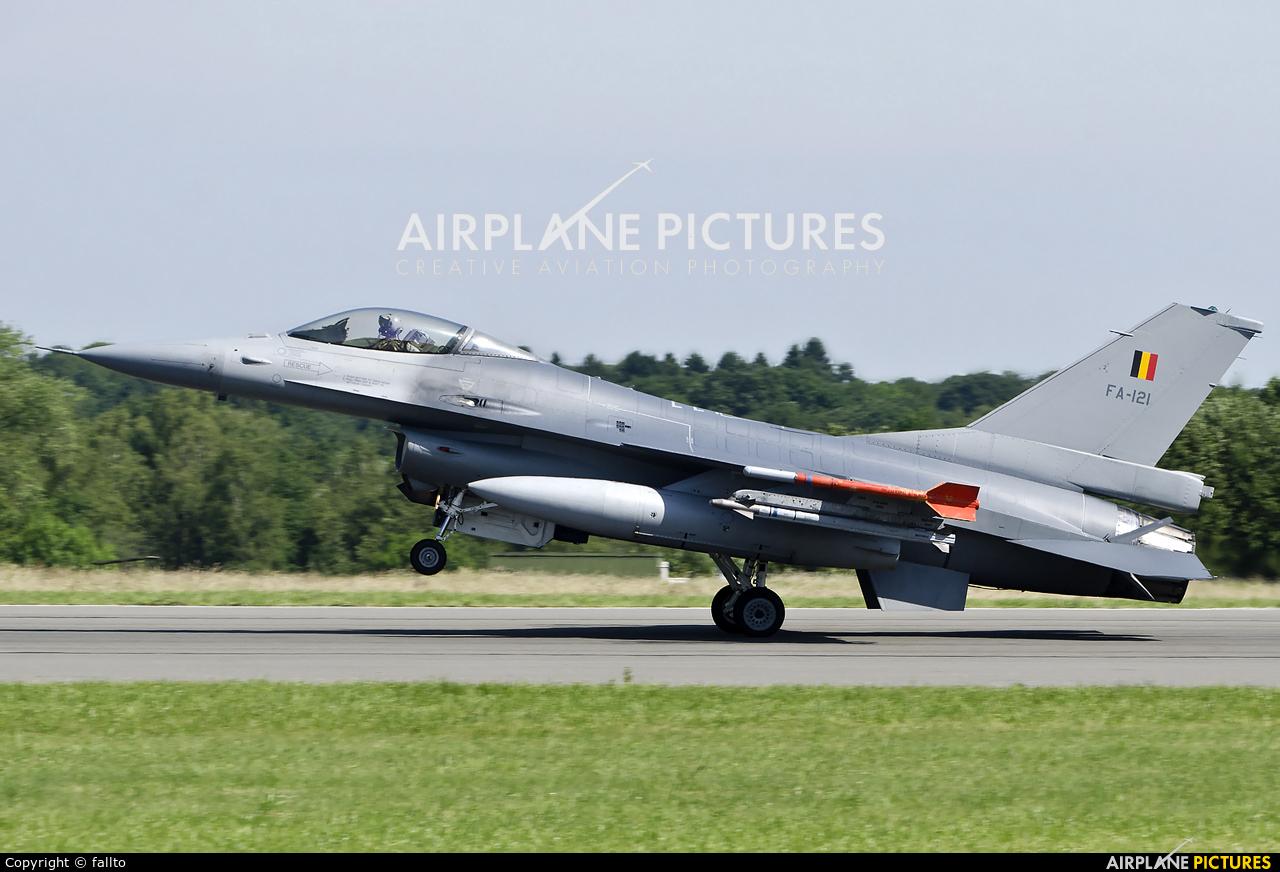 Belgium - Air Force FA-121 aircraft at Florennes