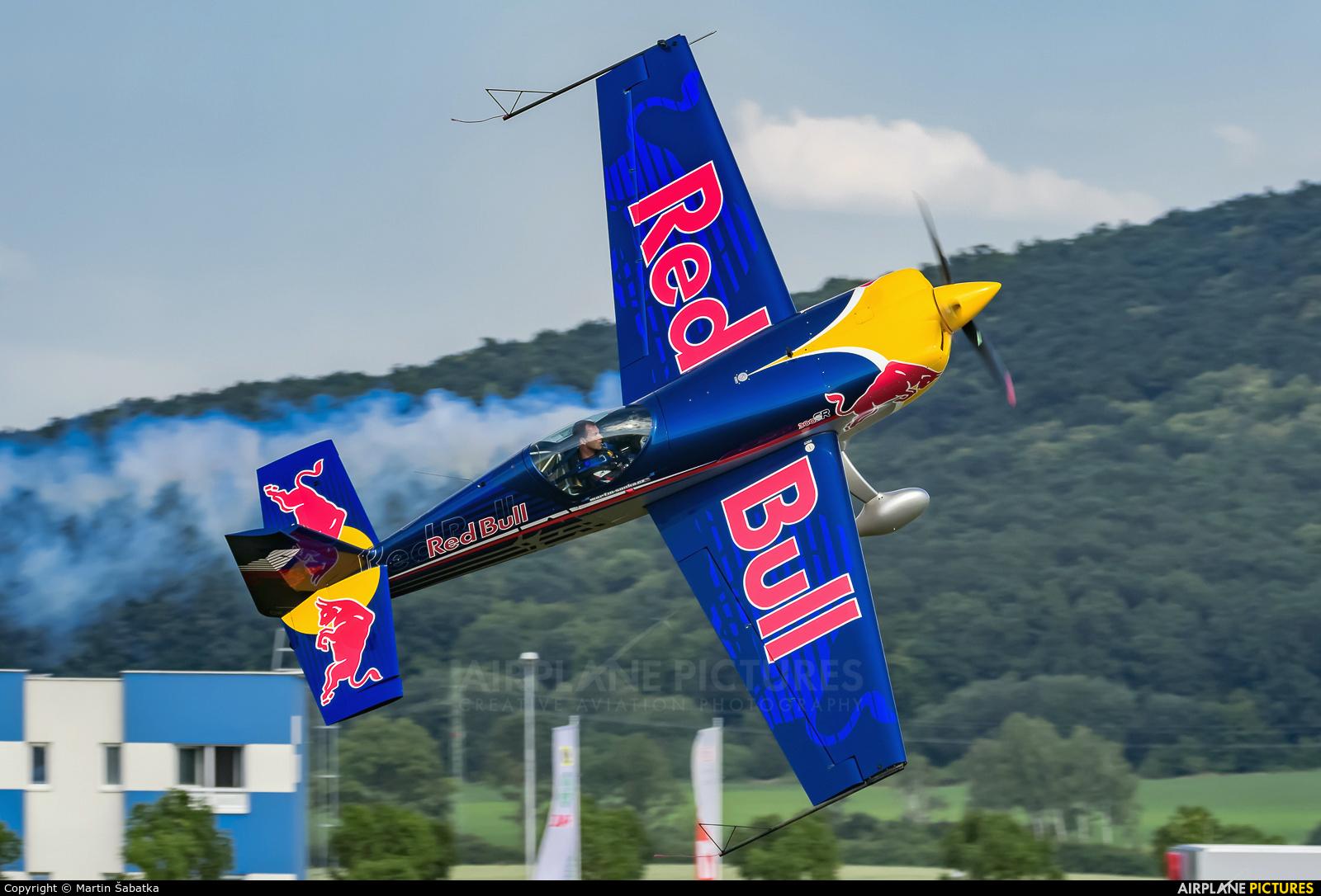 The Flying Bulls OK-SON aircraft at Mladá Boleslav