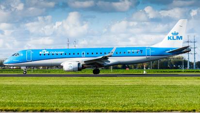 PH-EZD - KLM Cityhopper Embraer ERJ-190 (190-100)