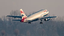 G-EUOE - British Airways Airbus A319 aircraft