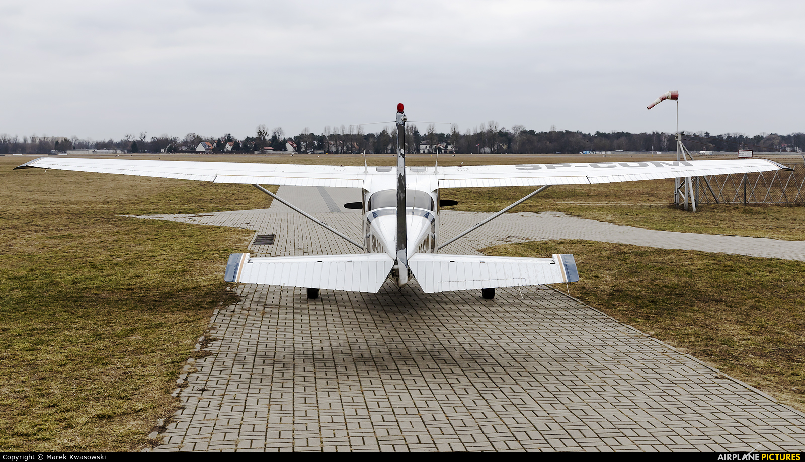 Aeroclub Warsaw SP-COM aircraft at Warsaw - Babice