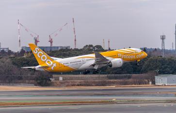 9V-OFB - Scoot Boeing 787-8 Dreamliner