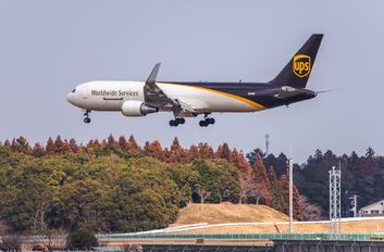 N302UP - UPS - United Parcel Service Boeing 767-300F