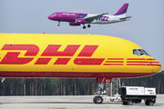 D-ALES - DHL Cargo Boeing 757-200F aircraft