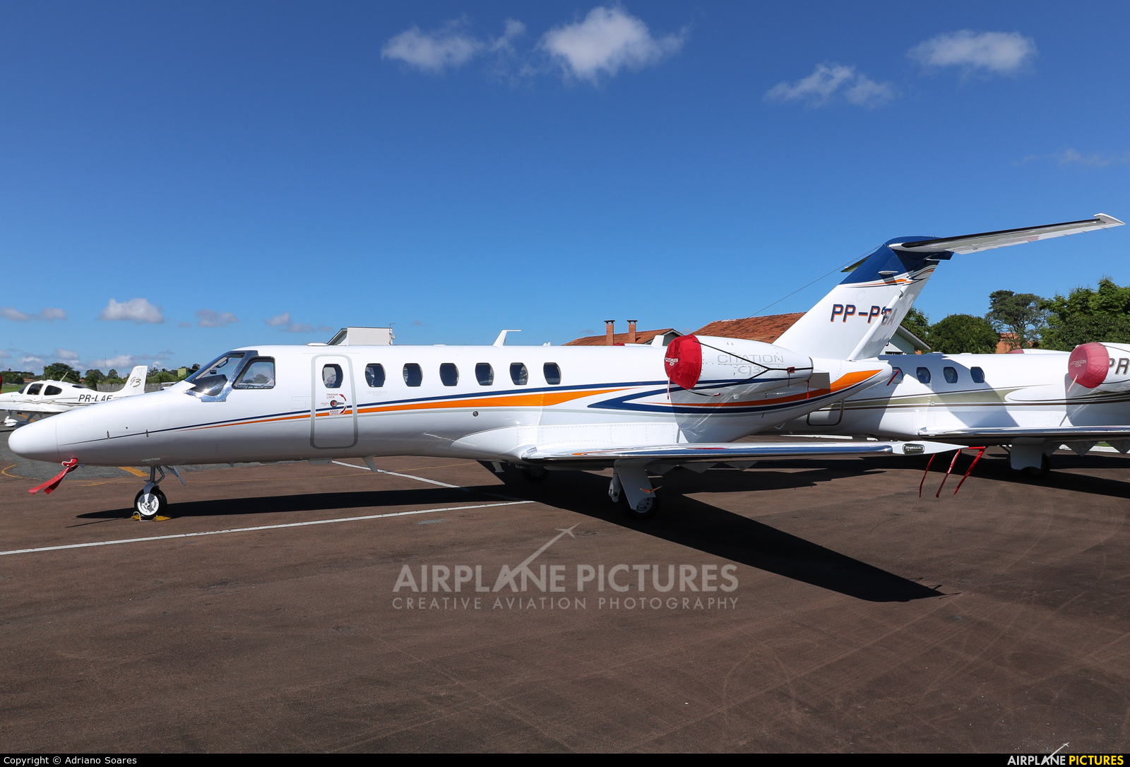 Private PP-PGA aircraft at Curitiba - Bacacheri