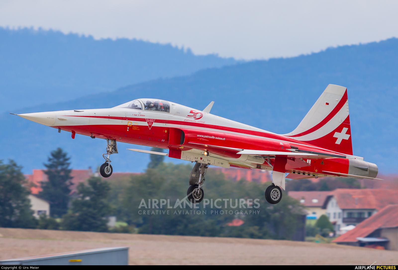 Switzerland - Air Force:  Patrouille de Suisse J-3090 aircraft at Payerne