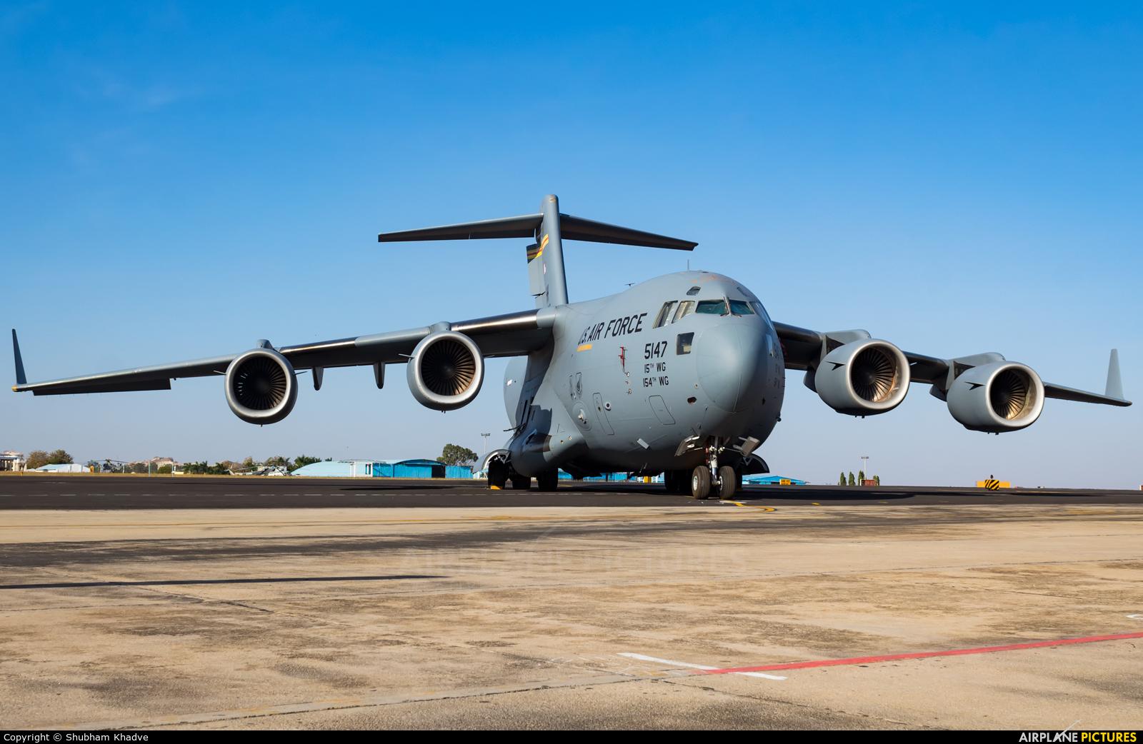USA - Air Force 05-5147 aircraft at Yelahanka AFB