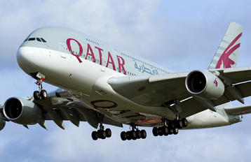 A7-APA - Qatar Airways Airbus A380
