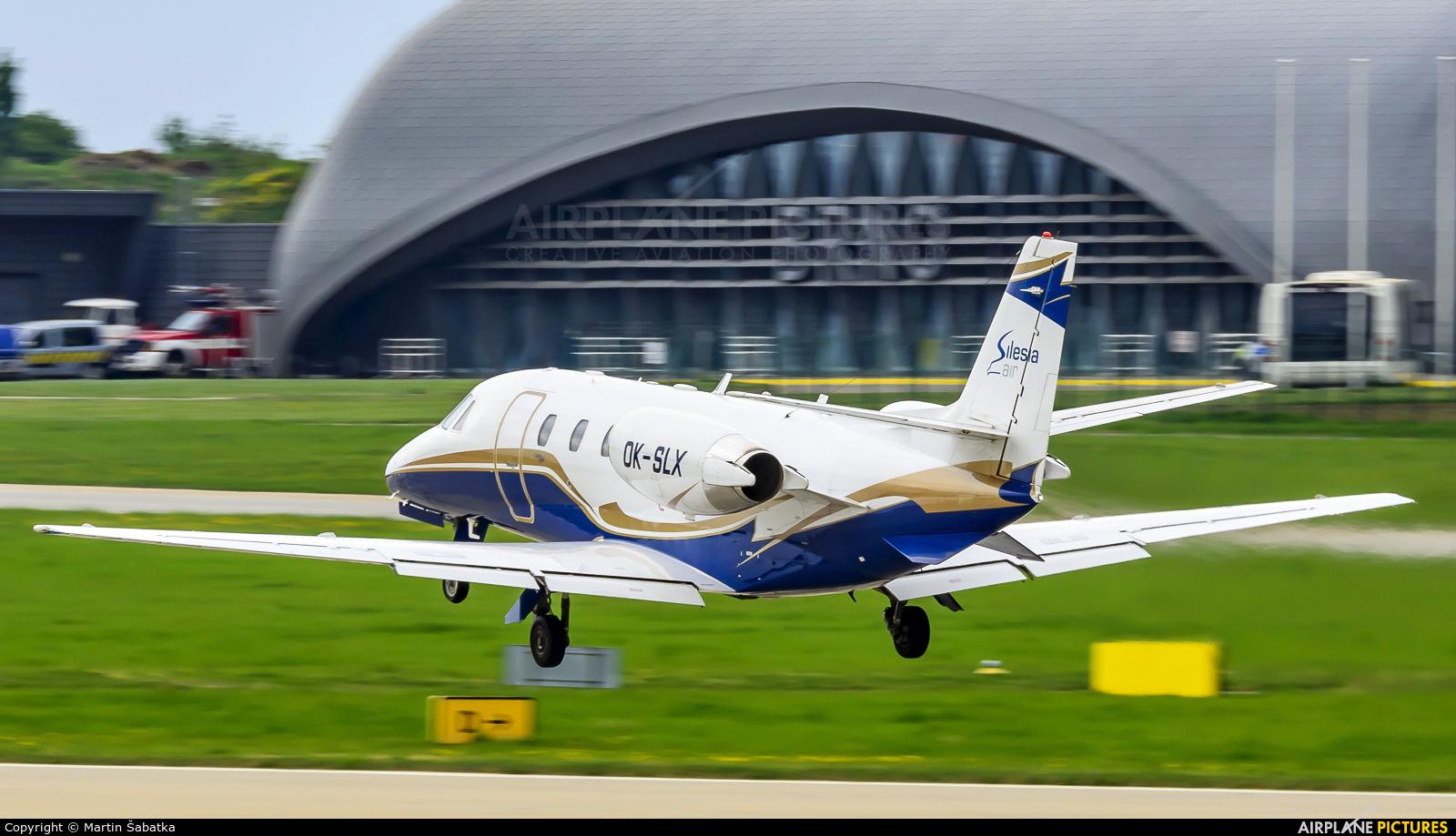 Silesia Air OK-SLX aircraft at Brno - Tuřany