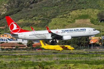 TC-JVY - Turkish Airlines Boeing 737-800