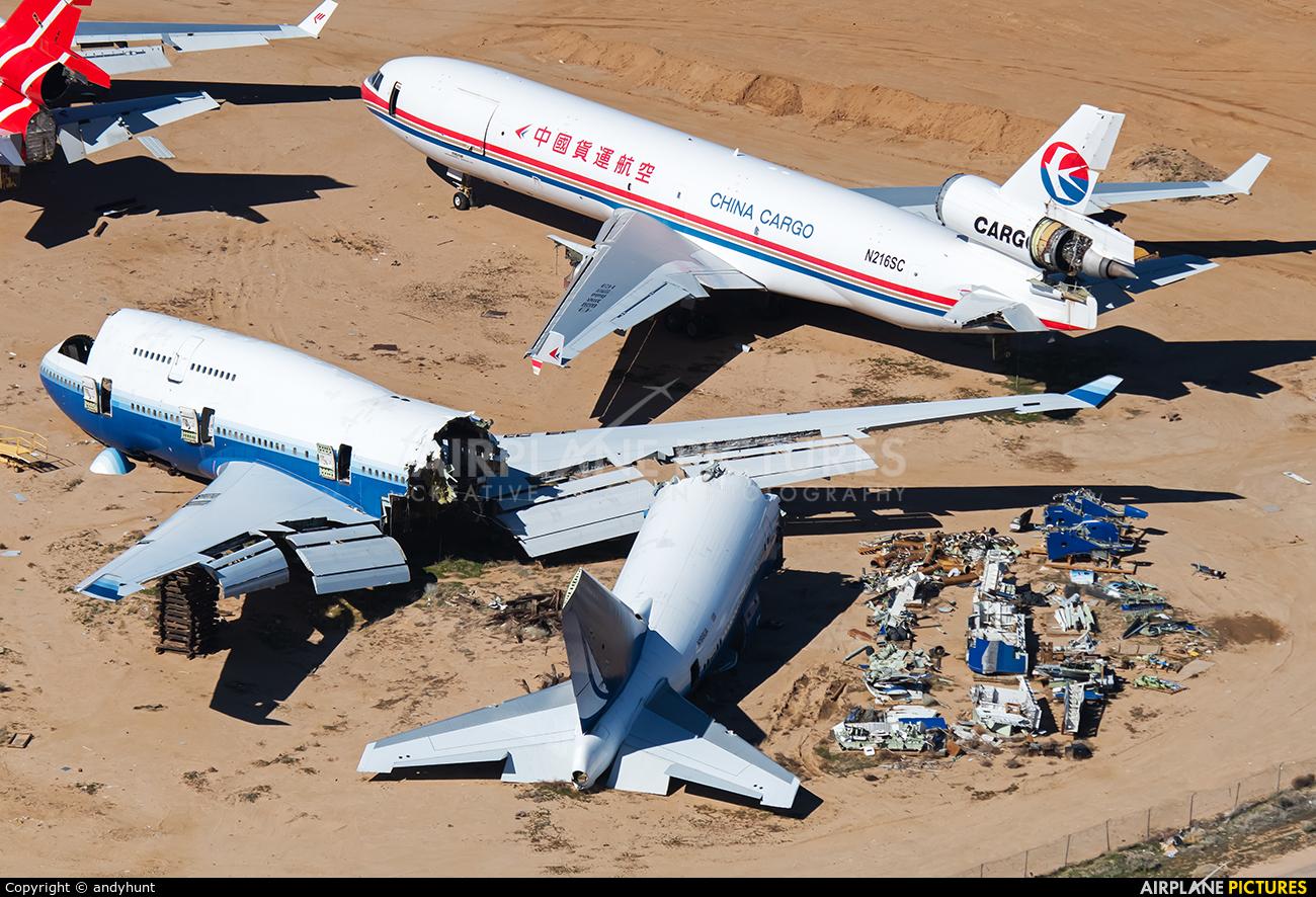 United Airlines N198UA aircraft at Mojave