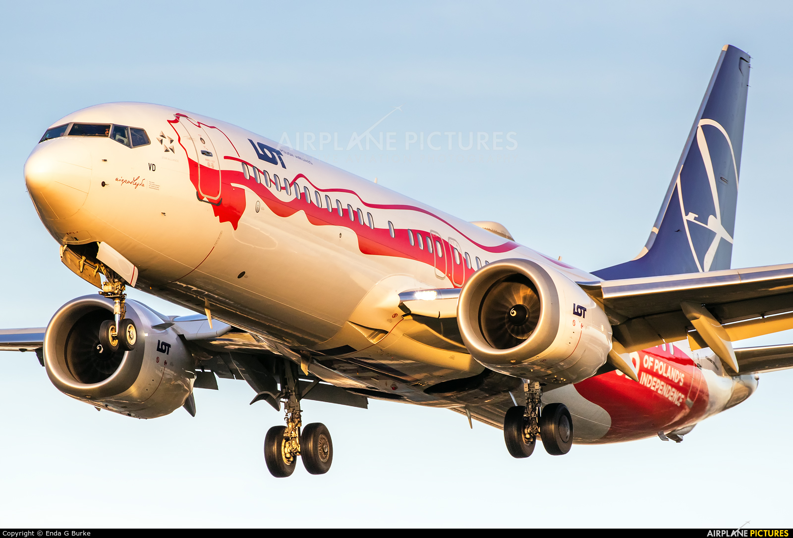 LOT - Polish Airlines SP-LVD aircraft at London - Heathrow