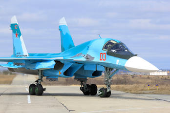 RF-81261 - Russia - Air Force Sukhoi Su-34