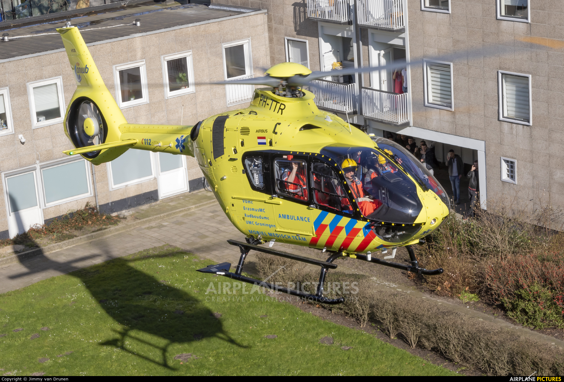 ANWB Medical Air Assistance PH-TTR aircraft at Off Airport - Netherlands