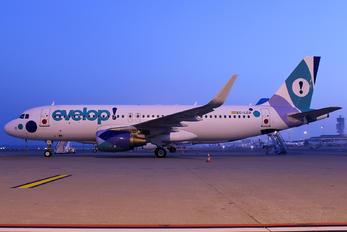 EC-LZD - Evelop Airbus A320