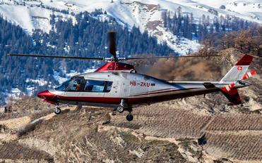 HB-ZKU - Private Agusta / Agusta-Bell A 109