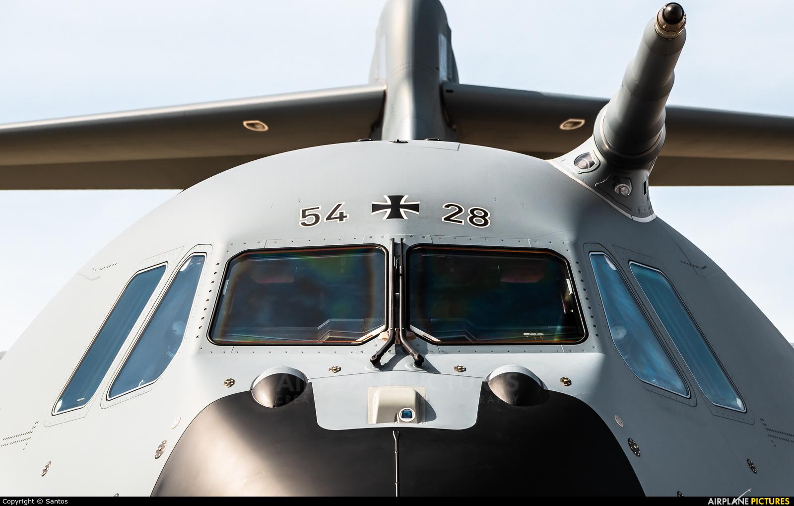 Germany - Air Force 54+28 aircraft at Seville - San Pablo