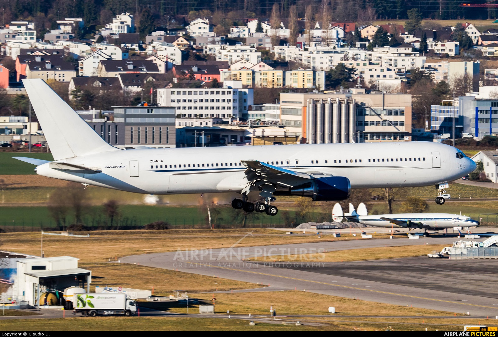 Aeronexus ZS-NEX aircraft at Zurich
