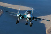 34 RED - Russia - Air Force Sukhoi Su-34 aircraft