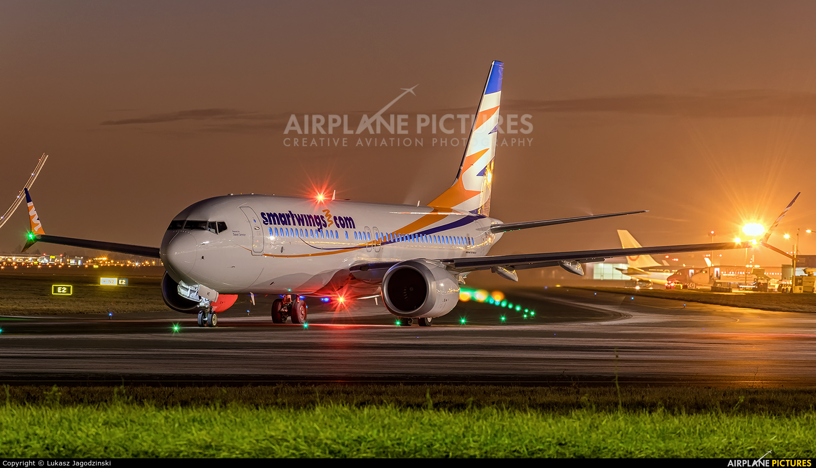 SmartWings OK-SWE aircraft at Warsaw - Frederic Chopin