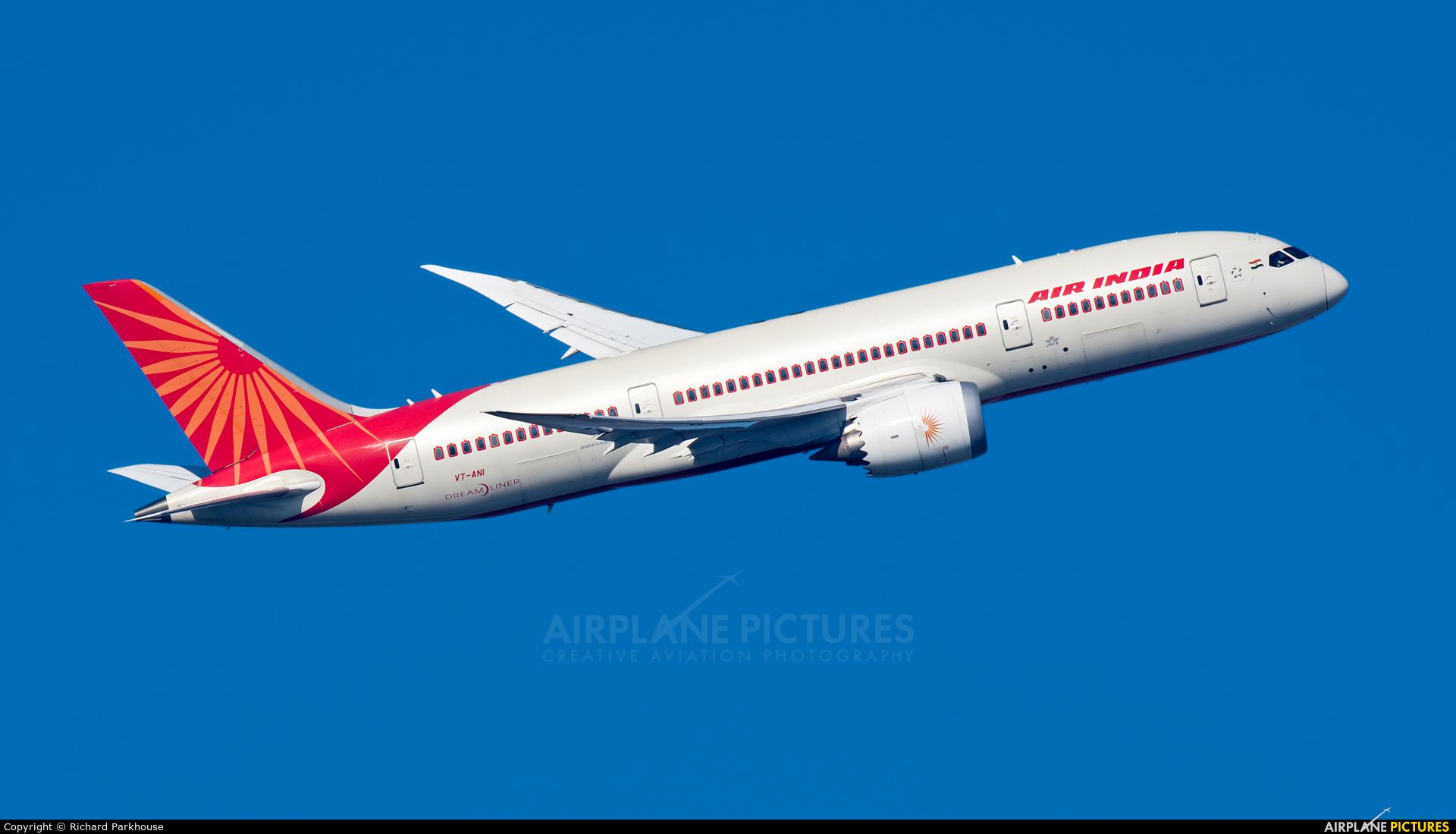 Air India VT-ANI aircraft at London - Heathrow