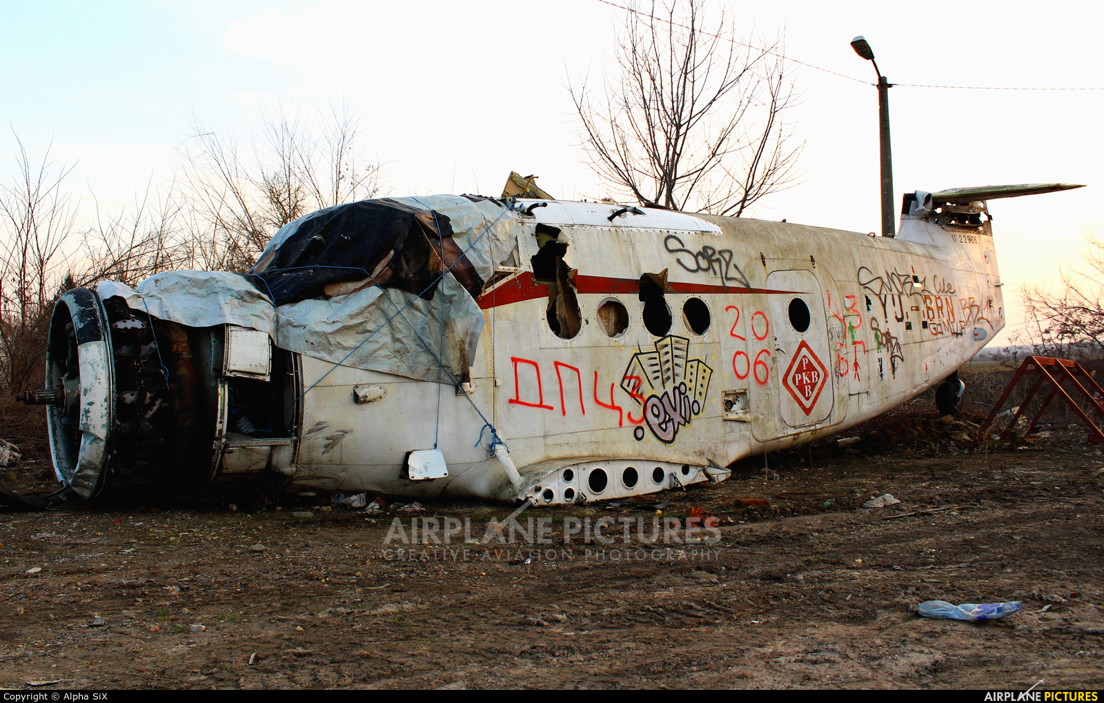 PKB Korporacija YU-BRN aircraft at Off Airport - Serbia