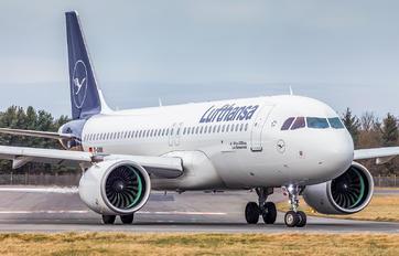D-AINN - Lufthansa Airbus A320 NEO