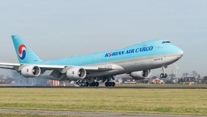 HL7629 - Korean Air Cargo Boeing 747-8F