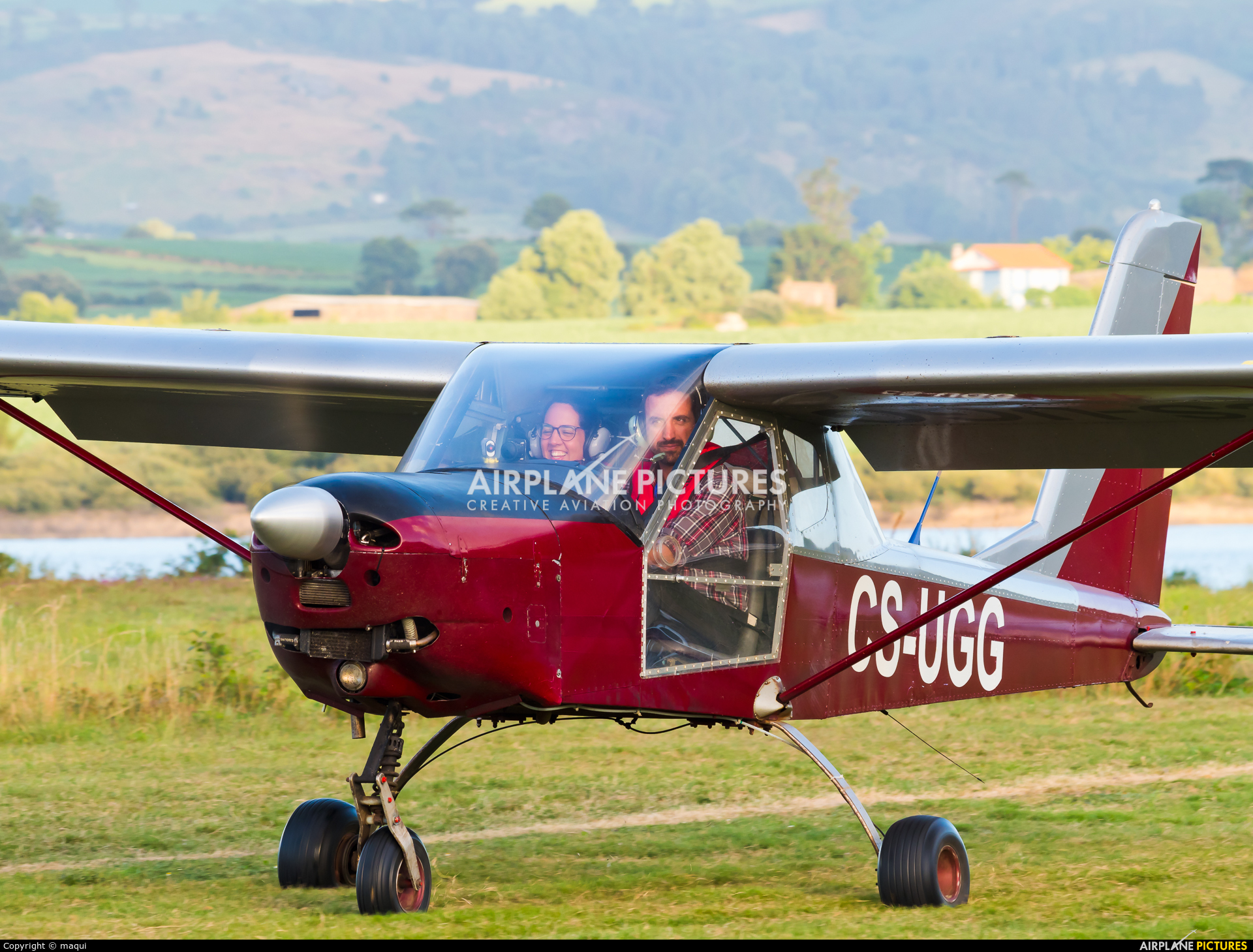 Private CS-UGG aircraft at Fervenza