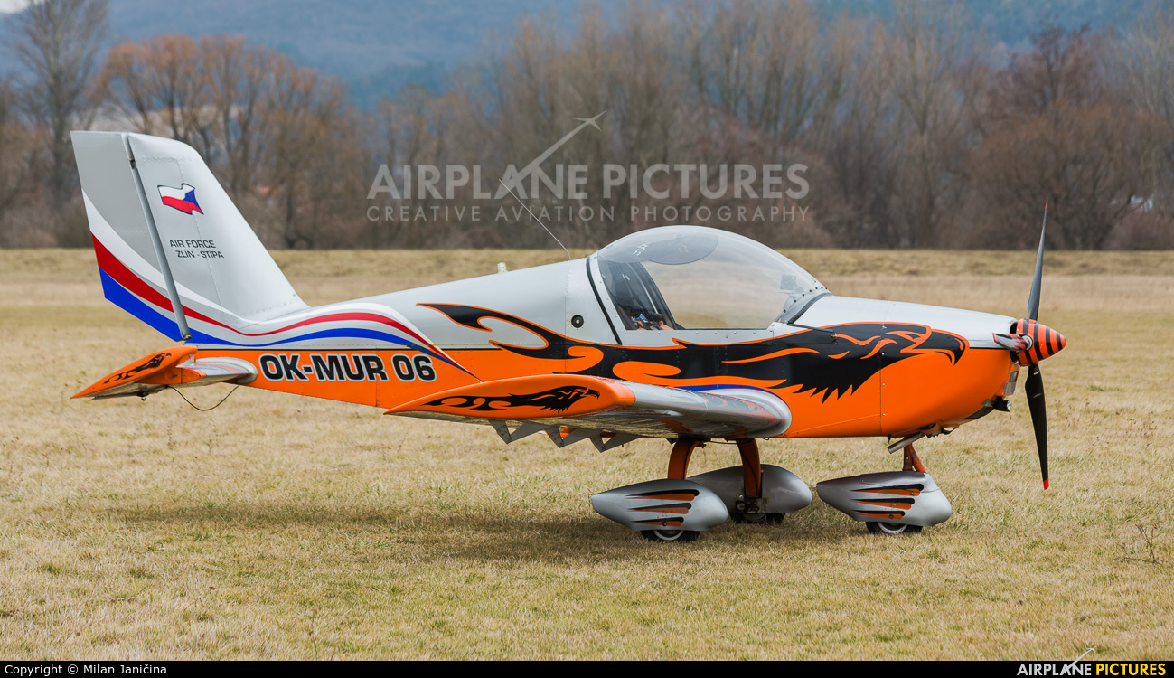 Private OK-MUR06 aircraft at Partizanske