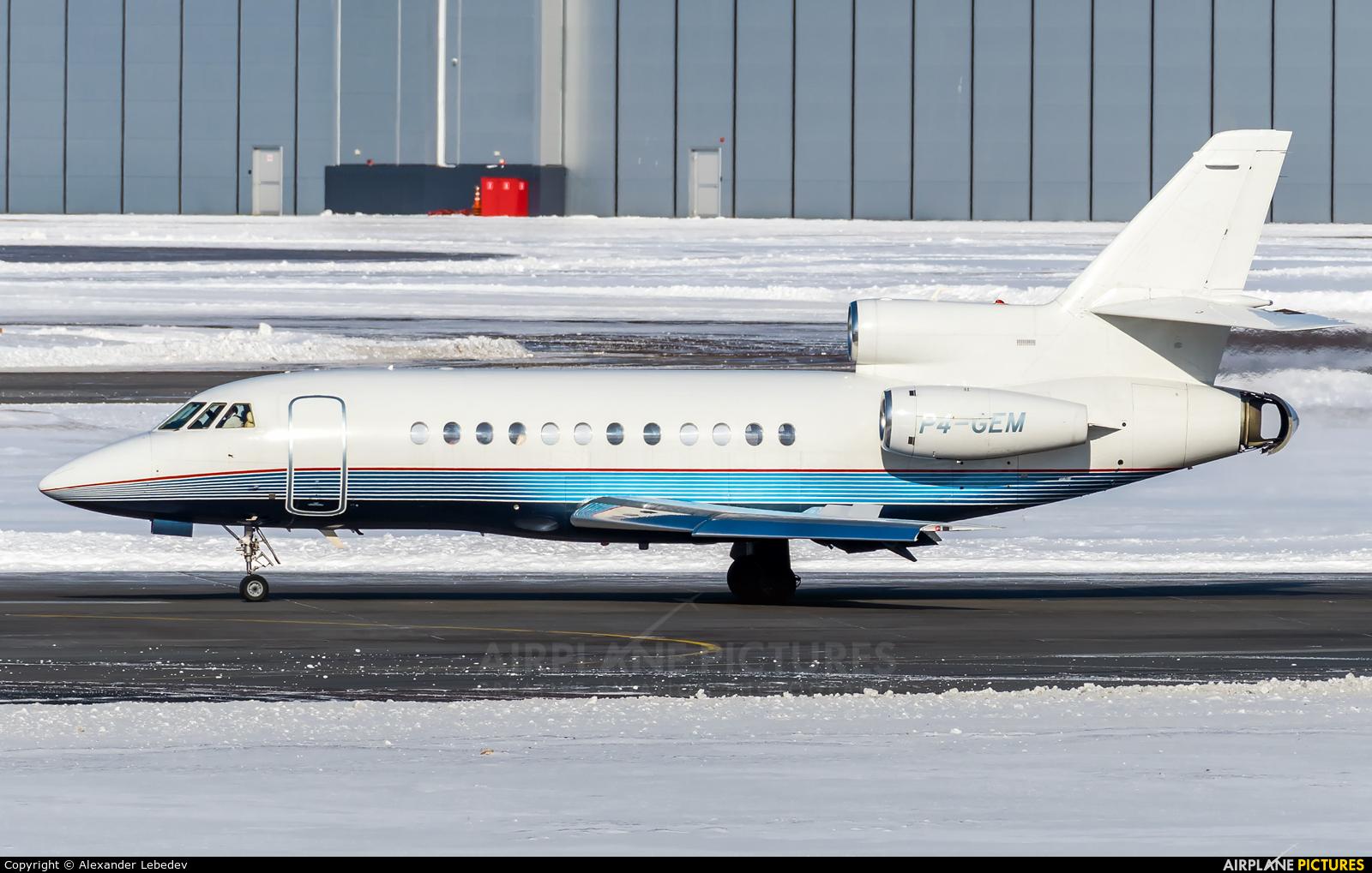 Private P4-GEM aircraft at Moscow - Vnukovo