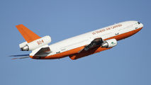 10 Tanker Air Carrier DC-10 during operations in Chile title=