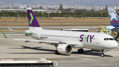 CC-AZD - Sky Airlines (Chile) Airbus A320 NEO