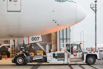 JA007D - JAL - Japan Airlines - Airport Overview - Hangar