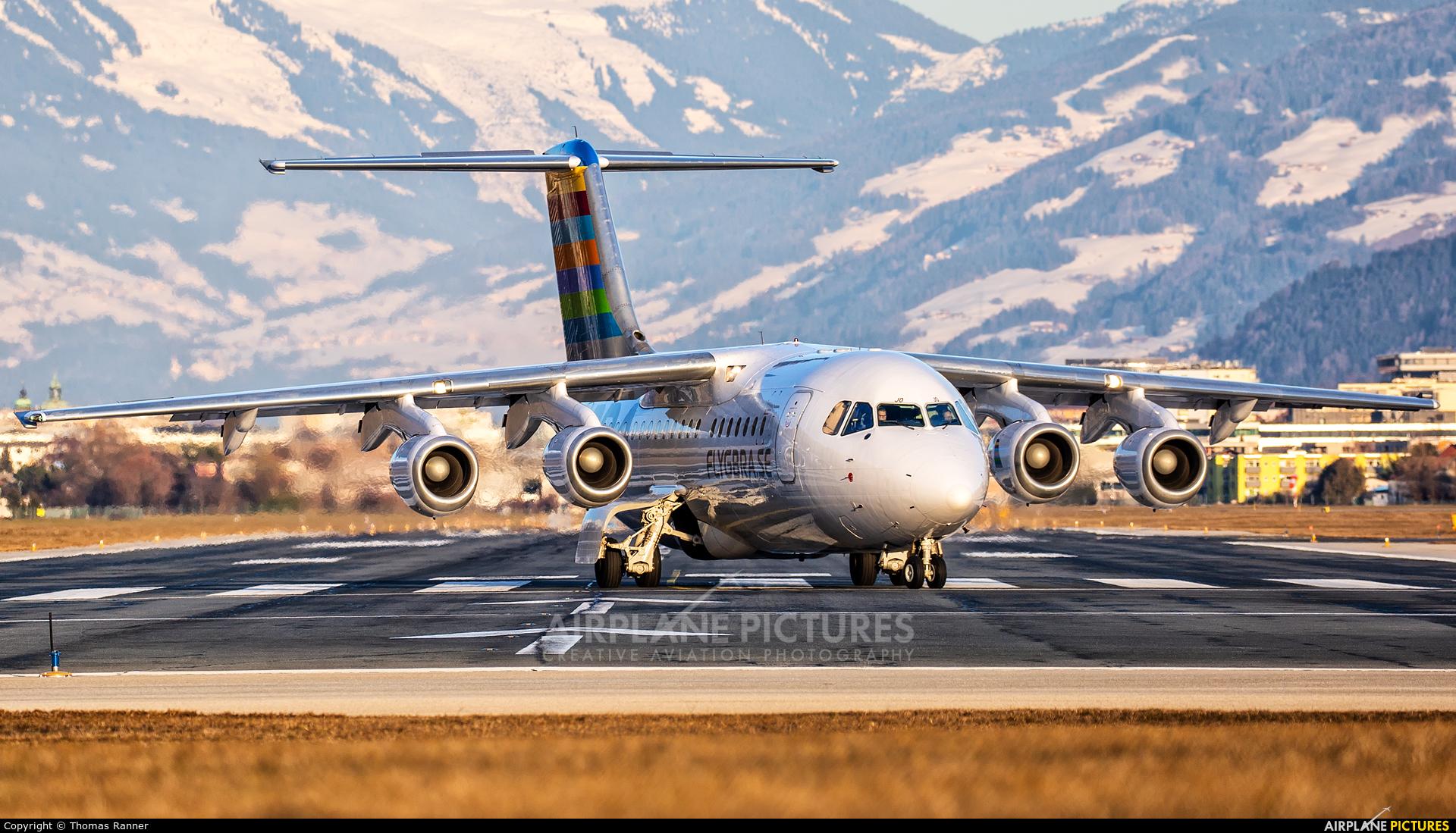 BRA (Sweden) SE-DJO aircraft at Innsbruck