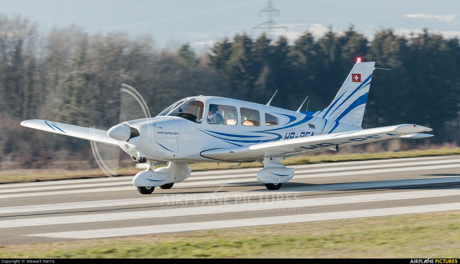 Private HB-PFA aircraft at Lausanne - La Blécherette