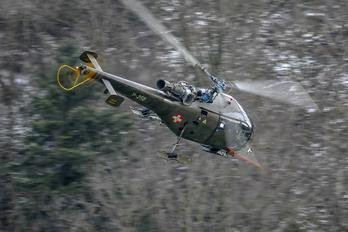 V-250 - Switzerland - Air Force Sud Aviation SA-316 Alouette III